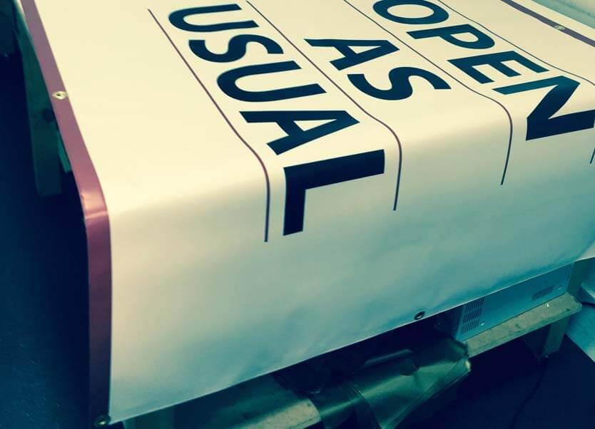London banner printing